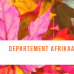 Open Letter to Prof. Wim de Villiers by the Department of Afrikaans and Dutch
